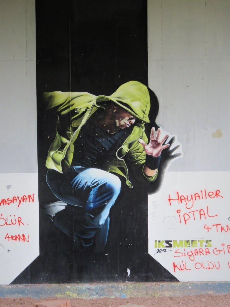 Mural in Vilvoorde