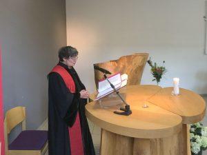 Voorbeden tijdens inzegeningsdienst